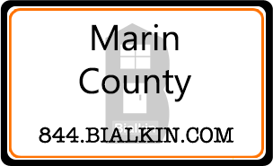 Robert Bialkin's Marin County Real Estate Card