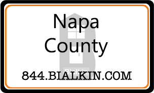 Robert Bialkin's Napa County Real Estate Card