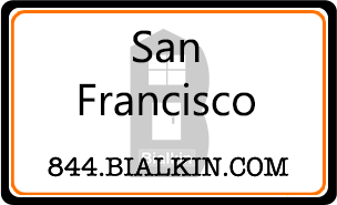 Robert Bialkin's San Francisco Real Estate Agent Card