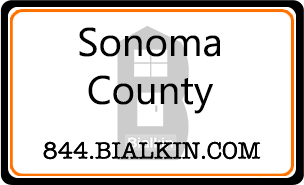 Robert Bialkin's Sonoma County Real Estate Card